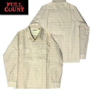 4035 ドビーボーダー オープンカラーシャツ
