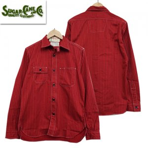 SC28340 「8.5oz RED WABASH WORK SHIRT」