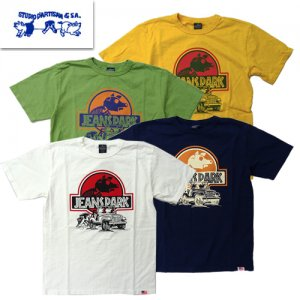 9996B「JEANS PARK」 USAコットン プリントTシャツ