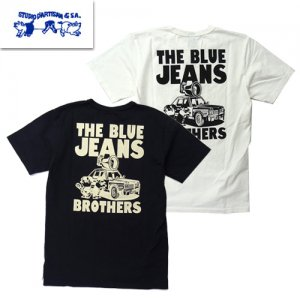 9996A「BROTHERS」 USAコットン プリントTシャツ