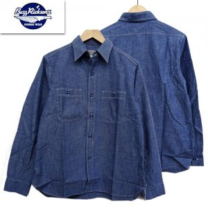 BR25995「BLUE CHAMBRAY WORK SHIRT」