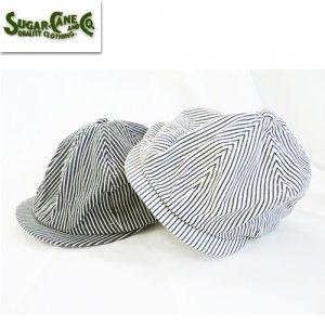SC02626 「HICKORY STRIPE APPLEJACK CAP」