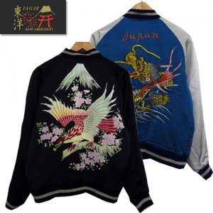 TT14383 KOSHO&CO SPECIAL EDITION SOUVENIR JACKET 「DRAGON×EAGLE PRINT」