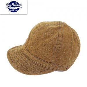 BR02620 「BROWN DENIM ARMY CAP」ブラウンデニム アーミーキャップ