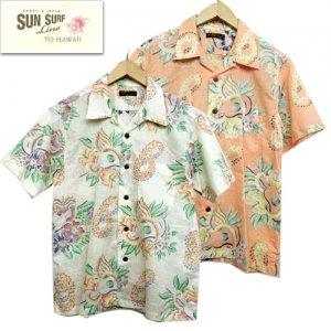 SS38408 コットンリネンスラブヤーンオープンシャツ 「MACINTOSH UKULELE」