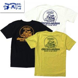 8005B「DENIM RIDER」 USA コットン Tシャツ