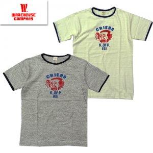 Lot4059 「CRIERS」 リンガーTシャツ