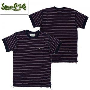 SC78530 ドビーストライプ Tシャツ