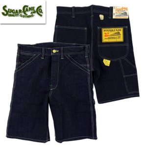 SC51841 11oz BLUE DENIME WORK SHORT PANTS