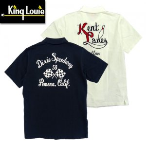 King Louie by Holiday 実名復刻 KL78532 S/S OPEN POLO SHIRTS