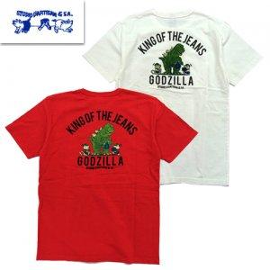 GZ-010B ゴジラコラボ USAコットン Tシャツ