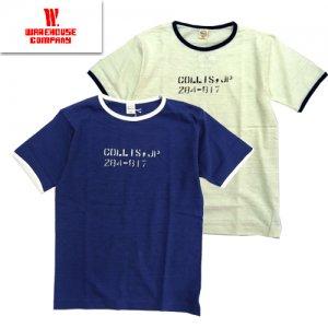 Lot4059 「COLLIS」 リンガーTシャツ