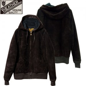 【予約10月下旬~】 TB152 STEER SUEDE HOODED PARKA