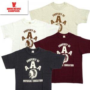 Lot4601 「A.A.A」 プリントTシャツ