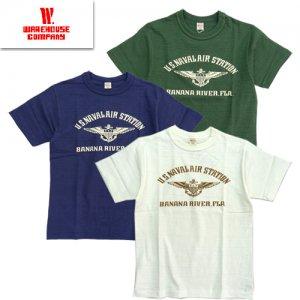 Lot4601 「BANANA RIVER」 プリントTシャツ
