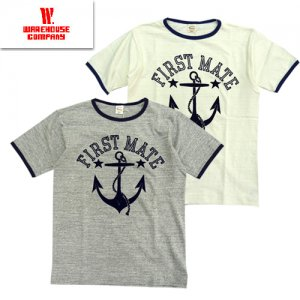 Lot4059 「FIRST MATE」 リンガーTシャツ