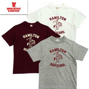 Lot4601 「HAMILTON」 プリントTシャツ