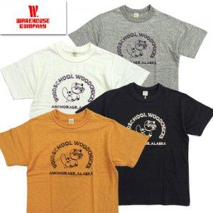 Lot4601 「WOODCHUCKS」 プリントTシャツ