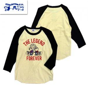 8011B ダルチザン ラグラン7分Tシャツ「THE LEGEND」