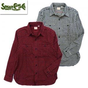 SC28229 TWILL CHEKE L/S WORK SHIRT