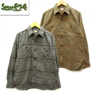 SC28504 LIGHT FLANNEL CHECK L/S WORK