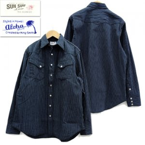 SS28521 ALOHA BY KING SMITH WESTERN SHIRT