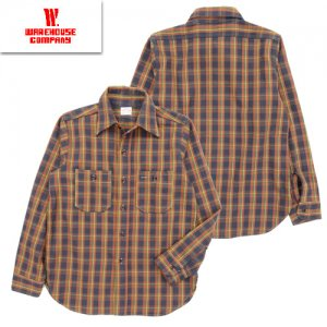 Lot3104 FLANNEL SHIRT B柄