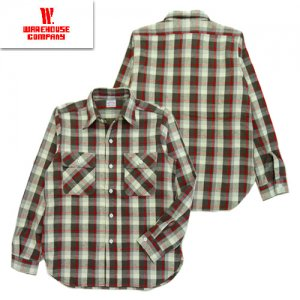 Lot3104 FLANNEL SHIRT D柄