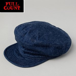 6121-1 Denim Workers Cap 10ozデニム