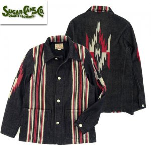 SC14771 NATIVE AMERICAN 「WOOL BLANKET JACKET」