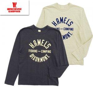Lot5906 クルーネック長袖Tシャツ 「HAMEL'S」
