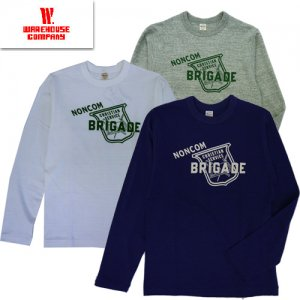Lot5906 クルーネック長袖Tシャツ 「BRIGADE」