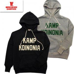 Lot450 Set In Hood 「KAMP KOINONIA」 吊り編みスウェットパーカー