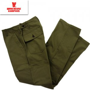 Lot1086 HBT Military Pants