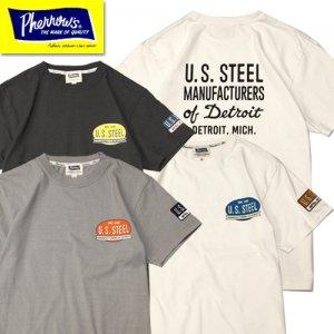 21S-PT3 「U.S.STEEL」プリントTシャツ
