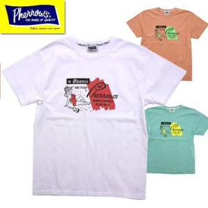 21S-PT10「Pherrow's IN Hawaii」プリントTシャツ