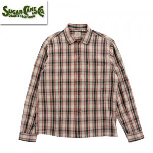SC28655 「OMBRE CHECK OPEN SHIRT」