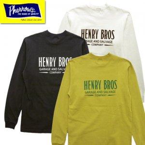 21S-PLT4 「HENRY BROS」 プリントロンT