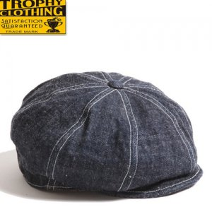 TR21SP-702 DIRT DENIM NEWSBOY CAP