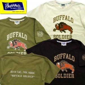 21S-PT30th 「BUFFALO」ロゴプリントTシャツ
