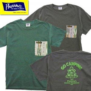 21S-P.CAMP-T 「GO CAMPING」 ポケット付きTシャツツ