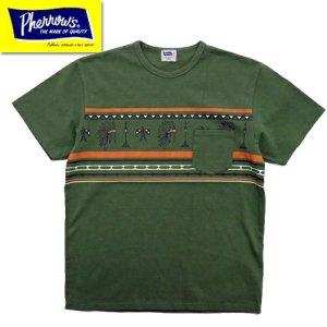 21S-PTP2 ポケット付きプリントTシャツ