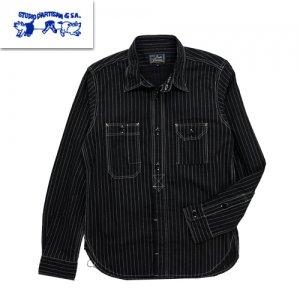 5333WB ブラックウォバッシュ 長袖ワークシャツ