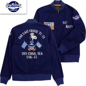 BR14821 SNOOPY TOUR JACKET