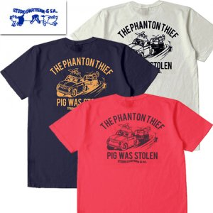 8030A「THE PHANTON THIEF」 USAコットン Tシャツ
