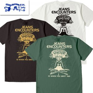 8030B「JEANS ENCOUNTERS」 USA コットン Tシャツ
