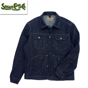 SC14841 「13oz BLUE DENIM ZIP JACKET」