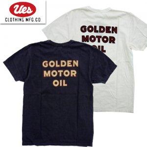 652113 「GOLDEN MOTOR OIL」 プリントTシャツ