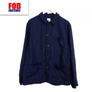 F2413 HEMP SHIRT JK ヘンプシャツジャケット