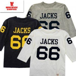 Lot4063 「JACKS」 七分袖フットボールT